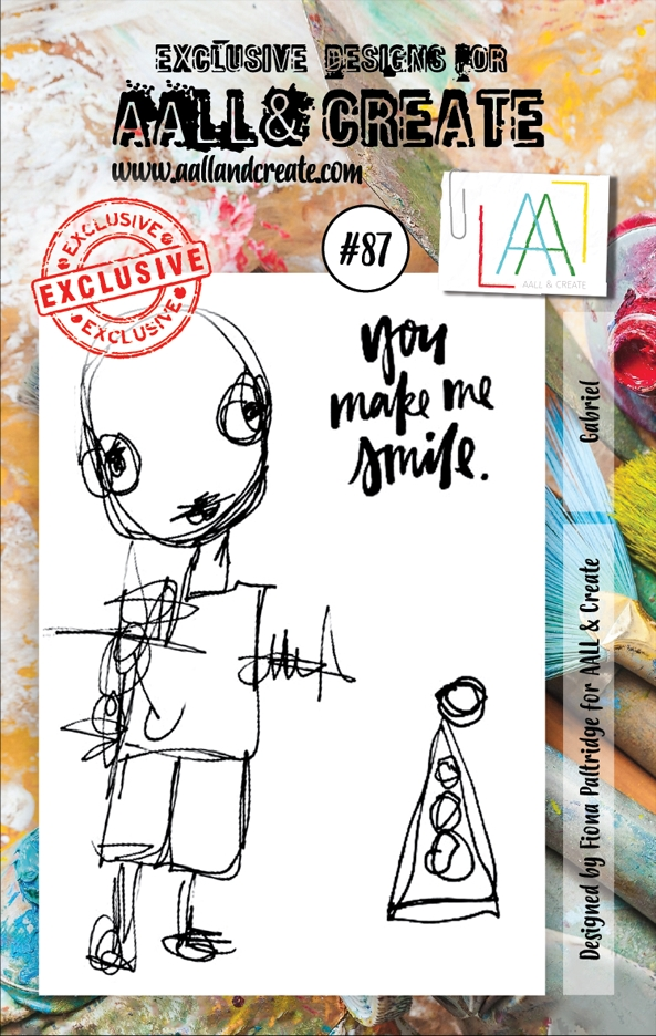AALL & Create GABRIEL 87 Clear Stamp Set aal00087* zoom image