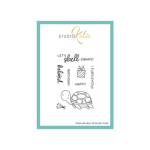 Studio Katia SHELL-EBRATION Clear Stamps stks053* Preview Image