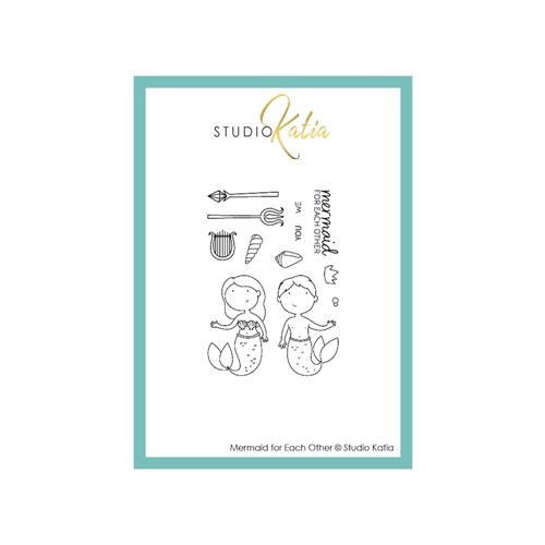 Studio Katia MERMAID FOR EACH OTHER Clear Stamps stks056 Preview Image