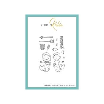 Studio Katia MERMAID FOR EACH OTHER Clear Stamps stks056
