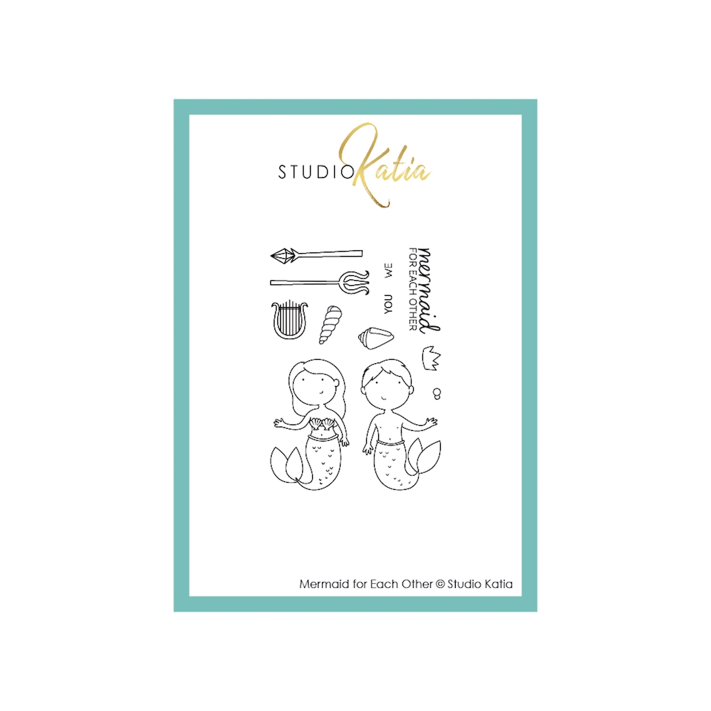 Studio Katia MERMAID FOR EACH OTHER Clear Stamps stks056 zoom image