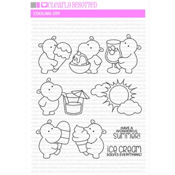 Clearly Besotted COOLING OFF Clear Stamps