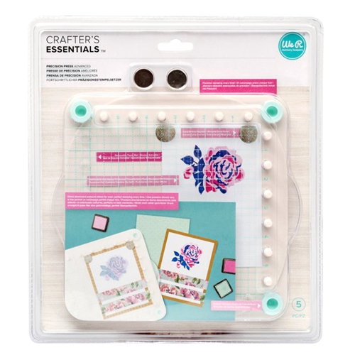 We R Memory Keepers PRECISION PRESS ADVANCED Stamping Tool 660265 Preview Image