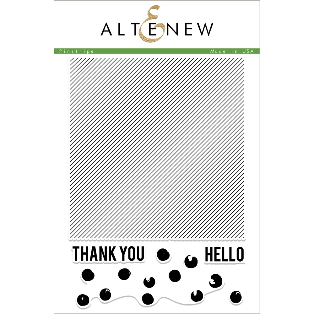 Altenew PINSTRIPES Clear Stamps ALT2337 zoom image