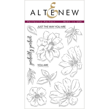Altenew PERFECTLY PERFECT Clear Stamps ALT2334