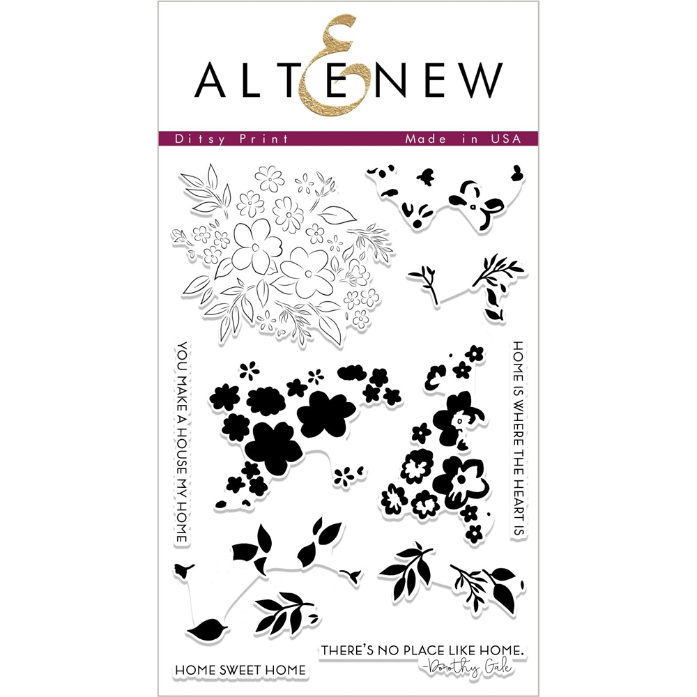 Altenew DITSY PRINT Clear Stamps ALT2324 zoom image