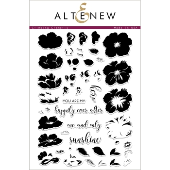 Altenew CLIMBING CLEMATIS Clear Stamps ALT2321*