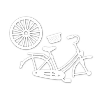 Simon Says Stamp CLASSIC BICYCLE Wafer Dies sssd111846 Good Vibes