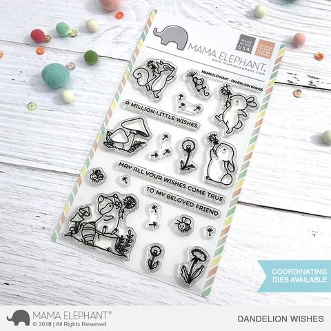 Mama Elephant Clear Stamps DANDELION WISHES zoom image