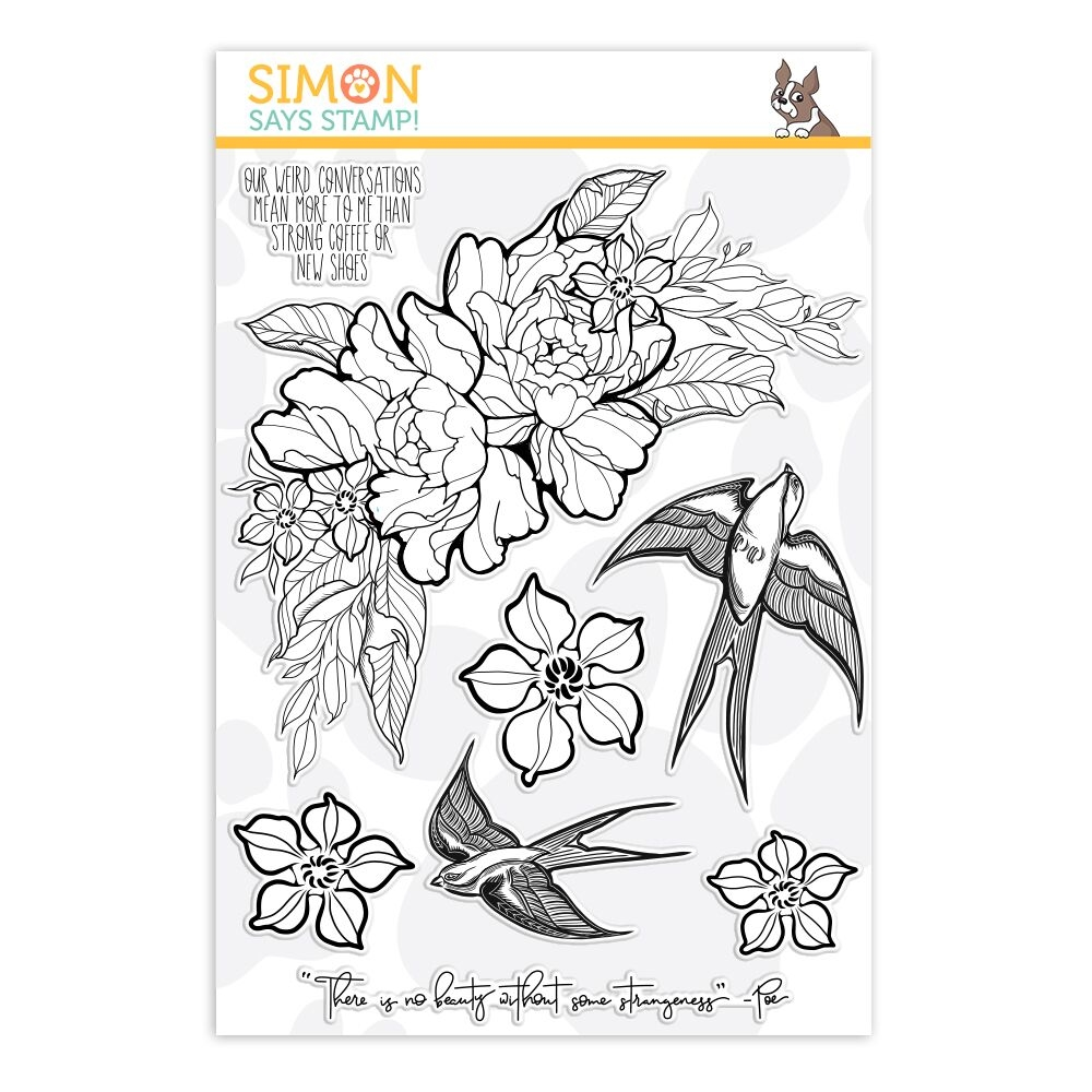 Simon Says Clear Stamps STRANGENESS sss101872 Good Vibes zoom image