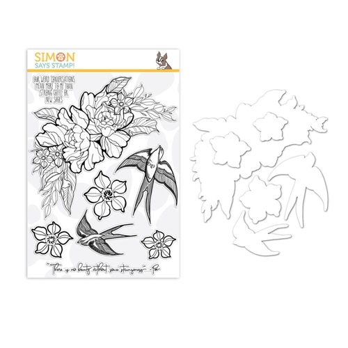 Simon Says Stamps And Dies STRANGENESS set325sn Good Vibes * Preview Image
