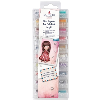 DoCrafts GORJUSS MINI PIGMENT INK PADS go550101