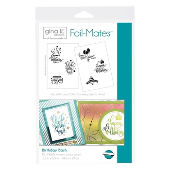 Therm O Web Gina K Designs BIRTHDAY BASH Foil-Mates 18097