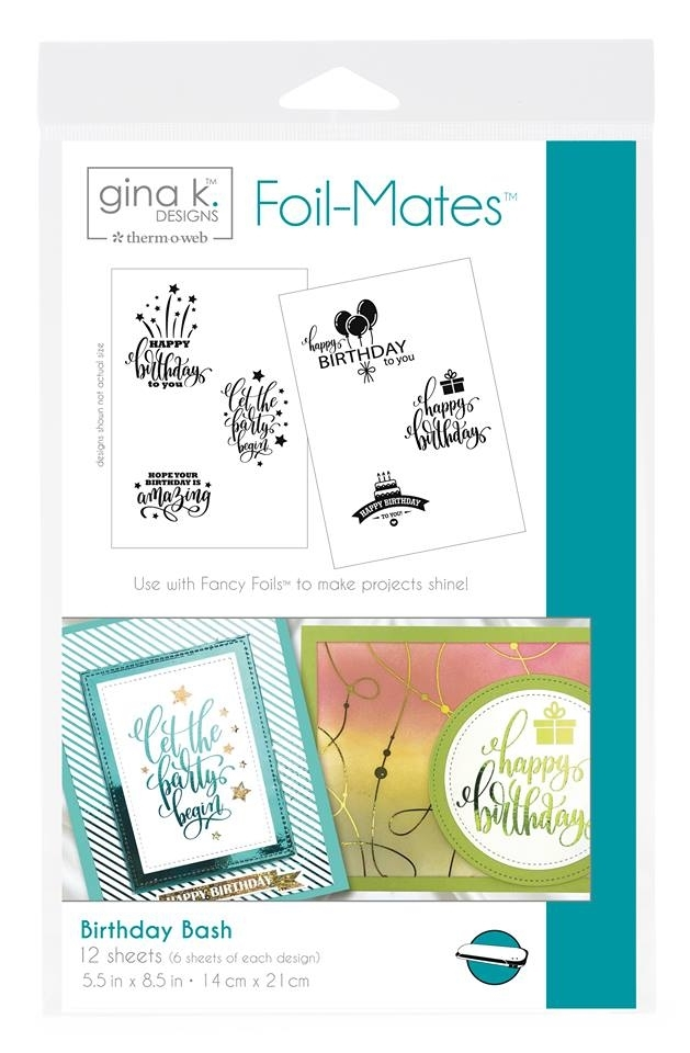 Therm O Web Gina K Designs BIRTHDAY BASH Foil-Mates 18097 zoom image