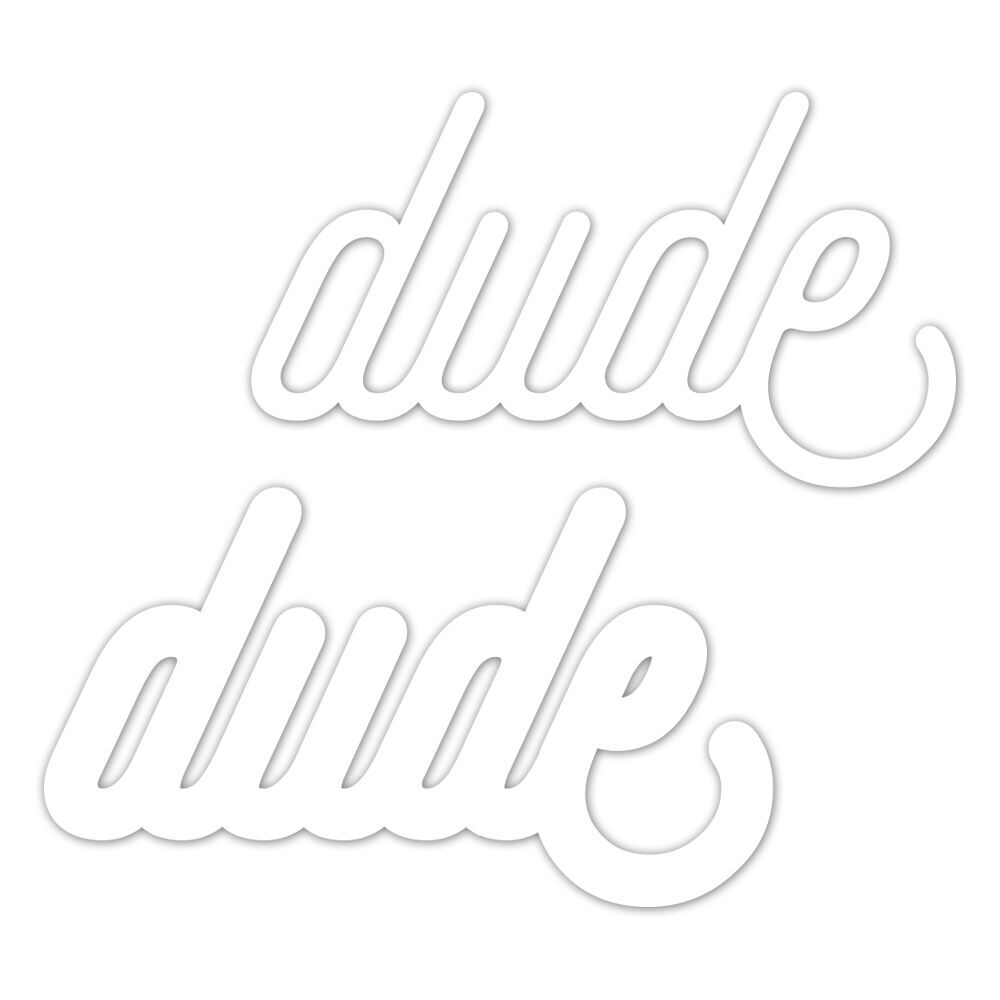 CZ Design Wafer Dies DUDE Czd26 Good Vibes zoom image