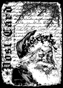 Tim Holtz Cling Rubber ATC Stamp SANTA LETTER COM028 Preview Image