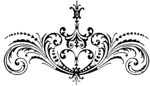 Tim Holtz Rubber Stamp SCROLLWORK Stampers Anonymous P5-1374 zoom image