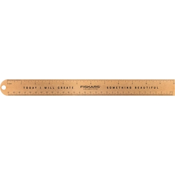 Fiskars Lia Griffith GOLD STUDIO 12 INCH RULER 06218