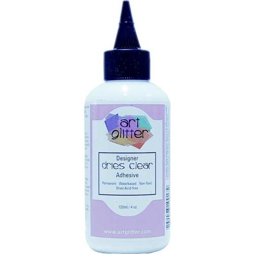 Art Glitter DESIGNER DRIES CLEAR ADHESIVE 4oz Glue ddc04 Preview Image