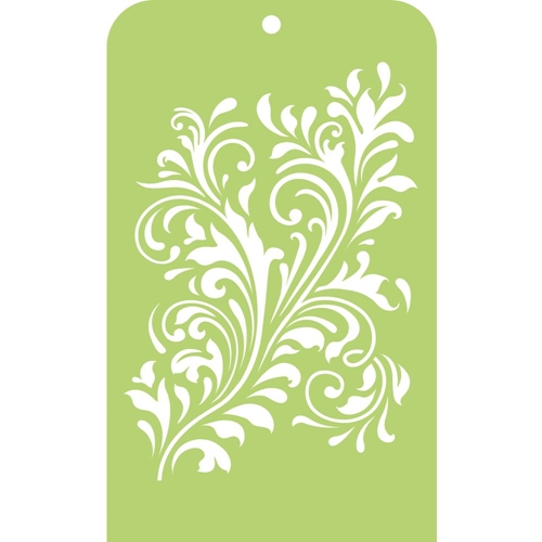 Kaisercraft FANCY FLOURISH Mini Designer Template Stencil IT036 Preview Image