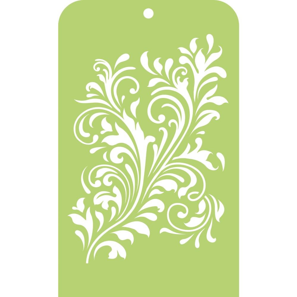 Kaisercraft FANCY FLOURISH Mini Designer Template Stencil IT036 zoom image