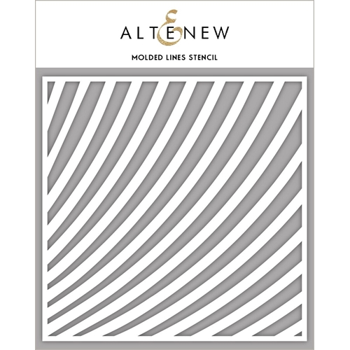 Altenew MOLDED LINES Stencil ALT2391 Preview Image