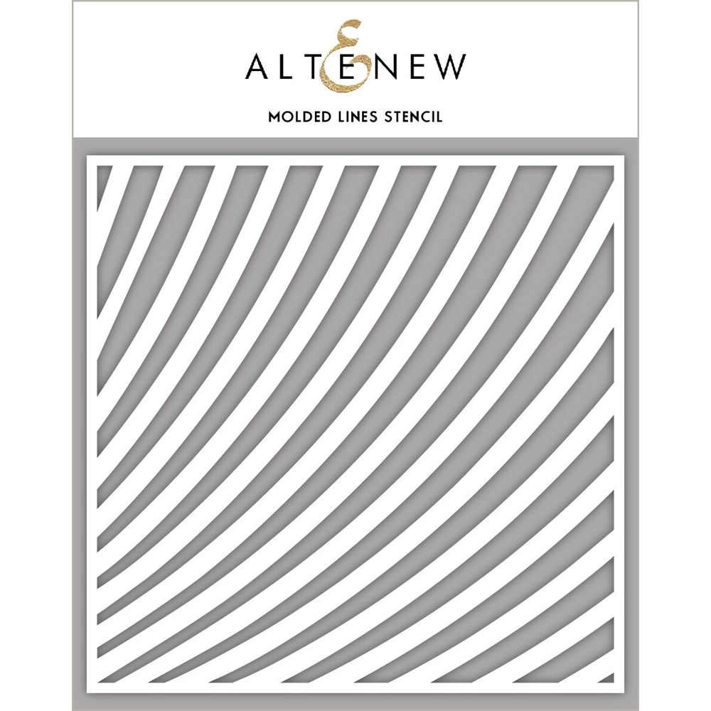 Altenew MOLDED LINES Stencil ALT2391 zoom image