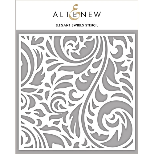 Altenew ELEGANT SWIRLS Stencil ALT2386 Preview Image