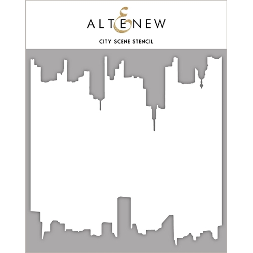 Altenew CITY SCENE Stencil ALT2384 Preview Image