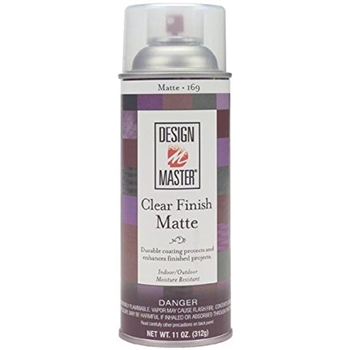 Design Master CLEAR MATTE Home Decor Aerosol Spray 169