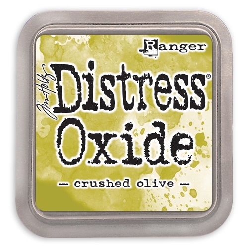 Tim Holtz Distress Oxide Ink Pad CRUSHED OLIVE Ranger tdo55907 Preview Image
