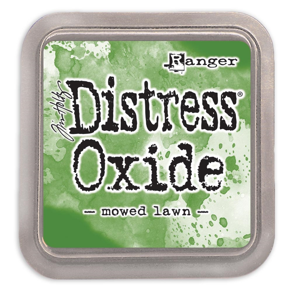 Tim Holtz Distress Oxide Ink Pad MOWED LAWN Ranger tdo56072 zoom image