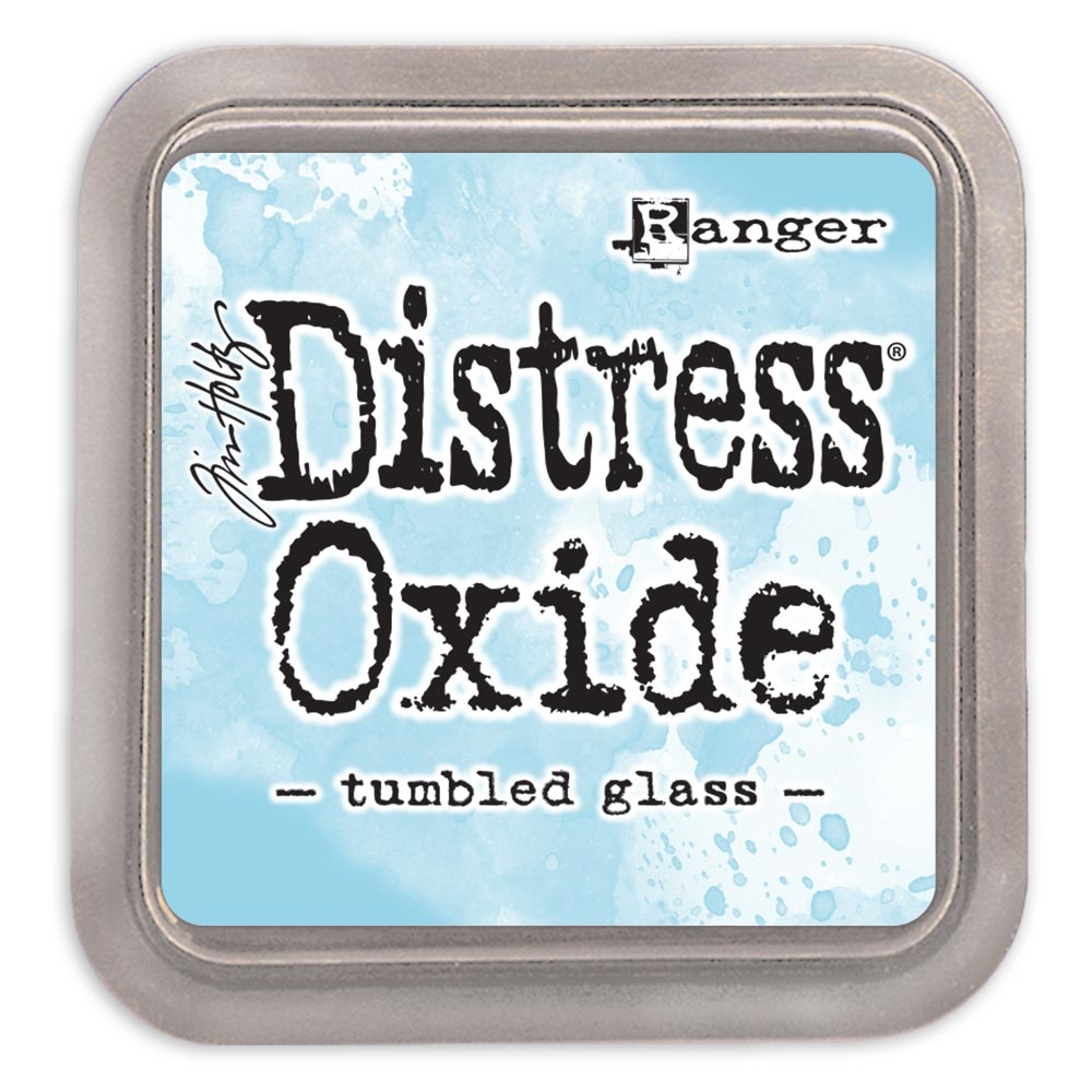 Tim Holtz Distress Oxide Ink Pad TUMBLED GLASS Ranger tdo56287 zoom image