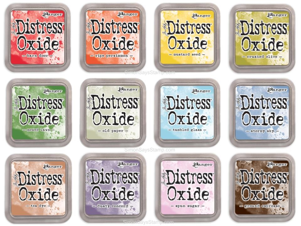 Tim Holtz Distress OXIDE INK PAD SET OF 12 Ranger ranger114 zoom image