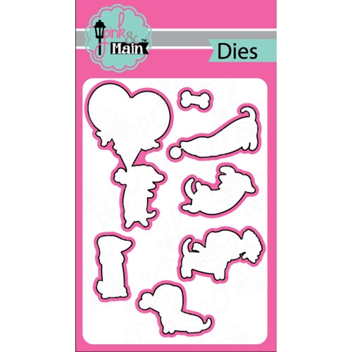 Pink and Main DIGGITY DOG Dies PNM166 Preview Image