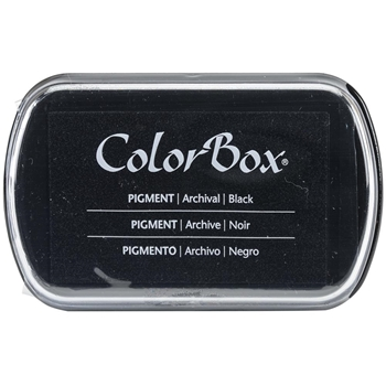 Clearsnap Colorbox BLACK INK PAD Pigment 150000