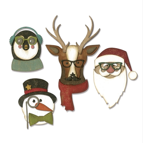 Tim Holtz Sizzix COOL YULE Thinlits Die 663099 Preview Image