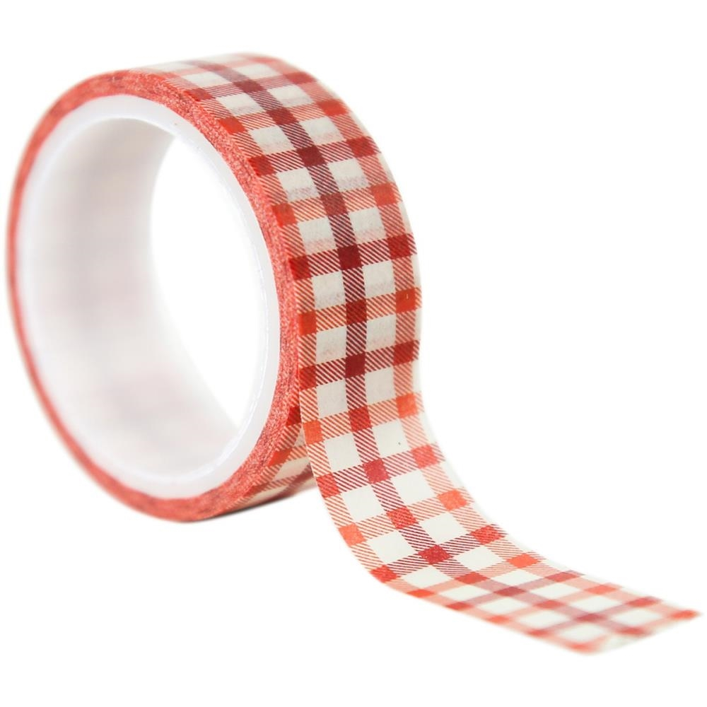 Echo Park AUTUMN GINGHAM Decorative Tape cau158027 zoom image
