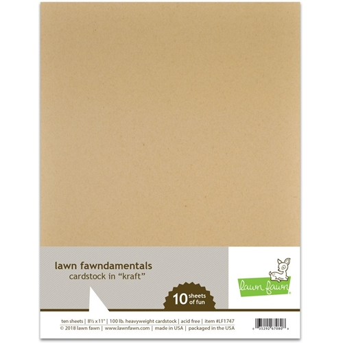 Lawn Fawn KRAFT Cardstock LF1747 Preview Image