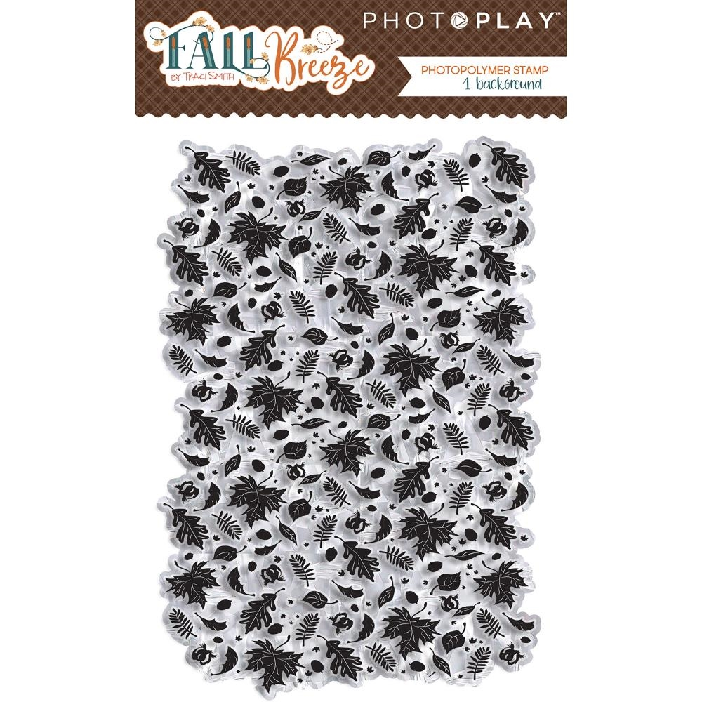 PhotoPlay FALL BREEZE BACKGROUND 2 Clear Stamps fb9024* zoom image