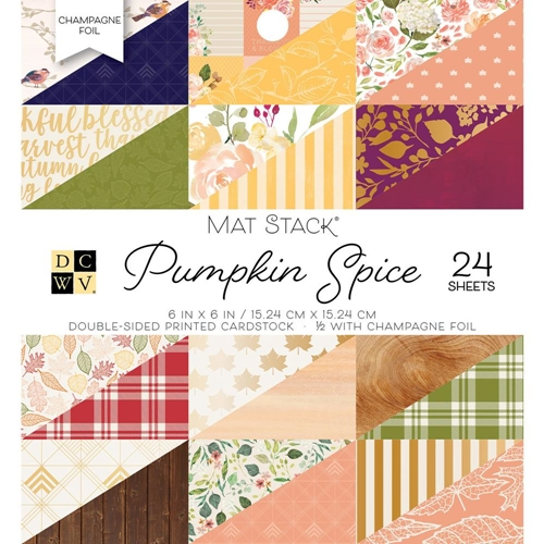 DCWV 6 x 6 PUMPKIN SPICE Mat Stack 614569* Preview Image