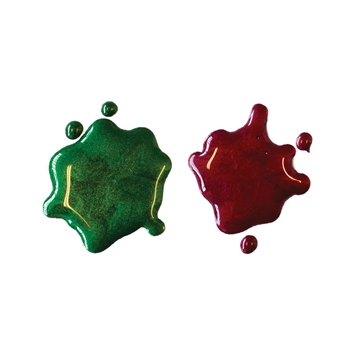 Hero Arts Glimmer Metallic Ink GREEN AND RED GM102