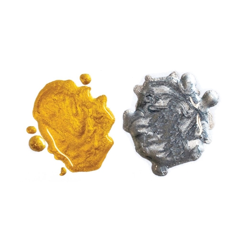 Hero Arts Glimmer Metallic Ink GOLD AND PEWTER GM100 Preview Image
