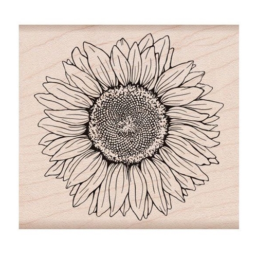 Hero Arts Rubber Stamp FLORALS SUNFLOWER K6288 Preview Image