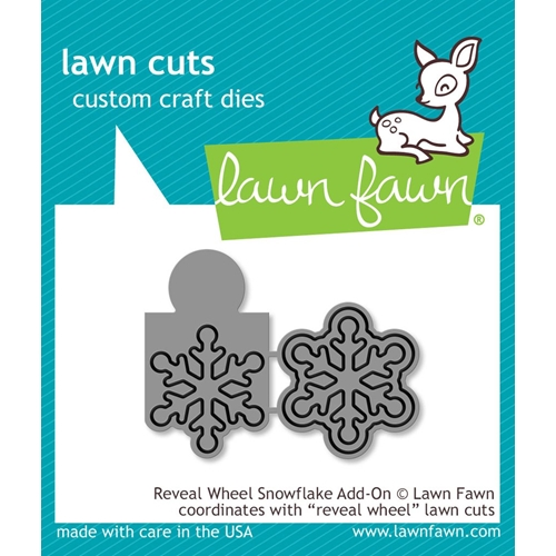 Lawn Fawn Reveal Wheel Snowflake Add On