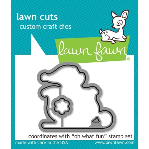 Lawn Fawn OH WHAT FUN Die Cuts LF1777 Preview Image
