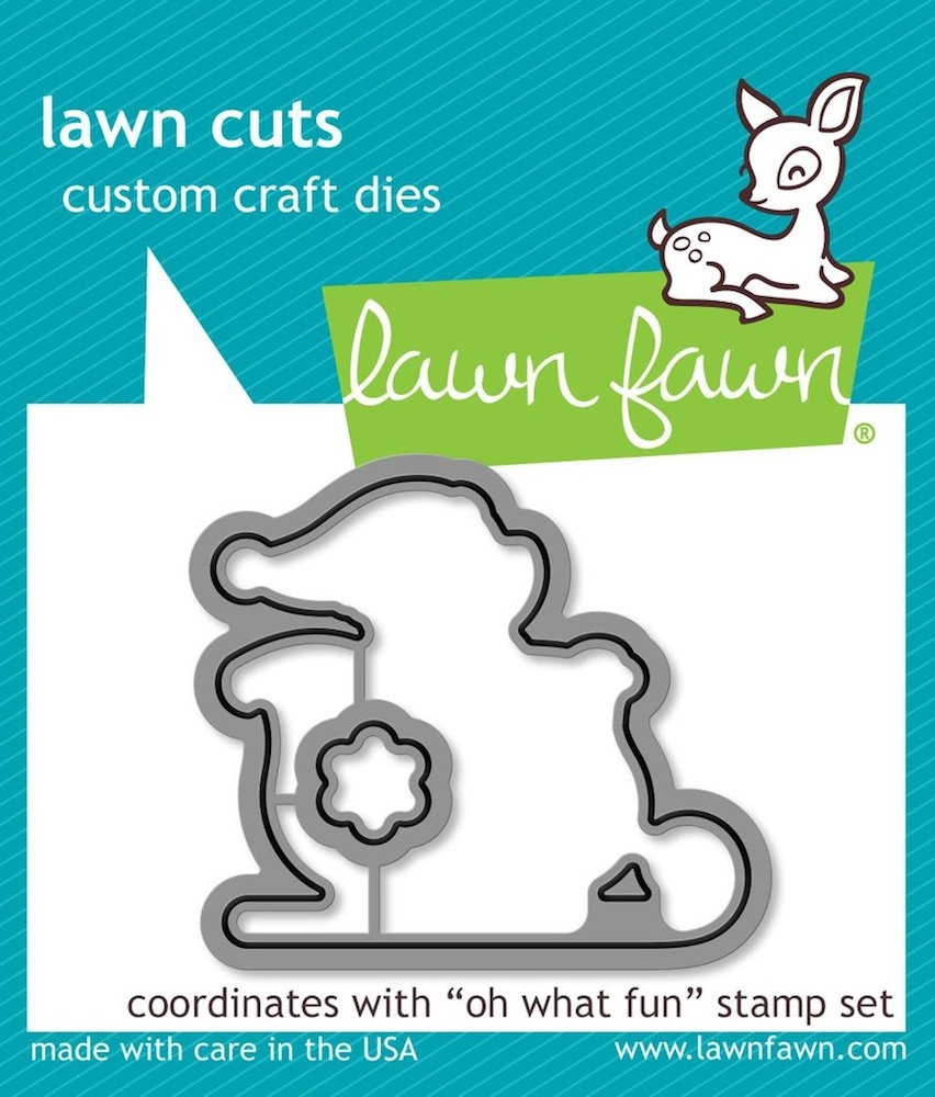 Lawn Fawn OH WHAT FUN Die Cuts LF1777 zoom image