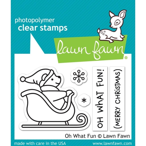 Lawn Fawn Oh What Fun Clear Stamp Set