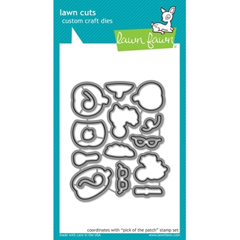 Lawn Fawn PICK OF THE PATCH Die Cuts LF1755