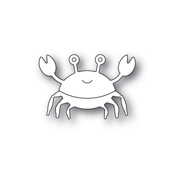 Simon Says Stamp PICTURE BOOK CRAB Wafer Dies s590 Friendly Frolic